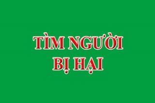 Công an thị xã Hòa Thành thông báo truy tìm bị hại