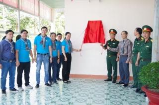 """Sư đoàn  5 và Công đoàn viên chức TP.HCM: Giao lưu văn nghệ """"Hành trình Hoa bàng vuông"""""""