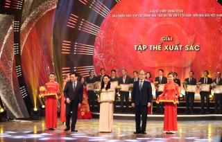 """Báo Tây Ninh đạt 1 giải C, 1 Giải chuyên đề """"Tác phẩm xuất sắc về đấu tranh chống diễn biến hòa bình"""" và là một trong 15 Tập thể xuất sắc"""