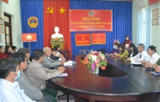 TAND huyện Gò Dầu được tặng cờ thi đua của Chính phủ