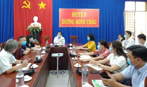 Trường THPT Dương Minh Châu được chọn làm khu cách ly tập trung, sẵn sàng tiếp nhận 100 công dân