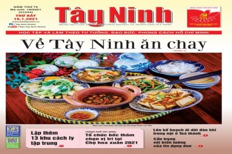 Điểm báo in Tây Ninh ngày 16.01.2021