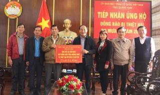Tây Ninh ủng hộ đồng bào miền Trung khắc phục hậu quả do bão lũ gây ra
