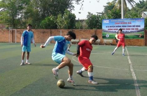 Huyện Dương Minh Châu: Tổ chức giải bóng đá U18 mở rộng