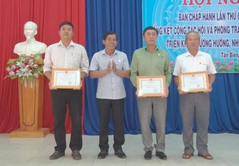 Năm 2020: Tân Biên có hơn 5.000 hộ được xét đạt tiêu chuẩn nông dân giỏi