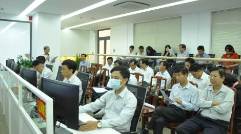 Học tập kinh nghiệm xây dựng mô hình trung tâm IOC tại Bình Phước