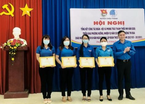 Châu Thành: Tổng kết công tác Đoàn và phong trào thanh thiếu nhi năm 2020