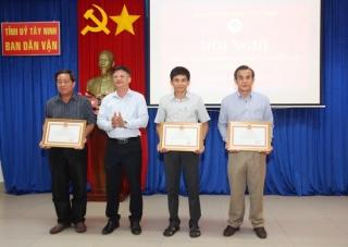Ban Dân vận Tỉnh uỷ triển khai nhiệm vụ công tác Dân vận năm 2021