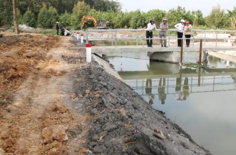 HĐND huyện Gò Dầu khảo sát ý kiến phản ánh của người dân xã Bàu Đồn