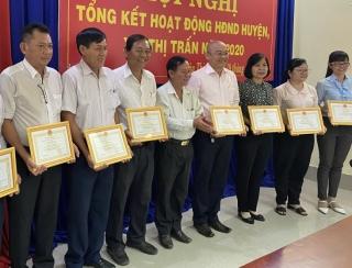 Năm 2020, HĐND huyện Châu Thành tổ chức 4 đợt tiếp xúc cử tri, với hơn 14 ngàn lượt người tham dự