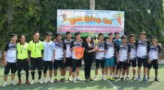 Tân Châu: Bế mạc Giải bóng đá mừng Đảng, mừng xuân Tân Sửu 2021