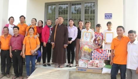 Hội Bảo trợ người khuyết tật và Bảo vệ quyền trẻ em tỉnh trao nhà tình thương tại Tân Biên, Châu Thành