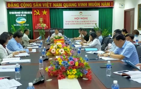 Tập huấn công tác bầu cử đại biểu Quốc hội khóa XV và đại biểu HĐND các cấp nhiệm kỳ 2021-2026