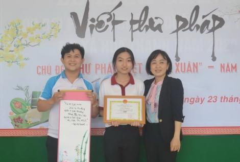Hòa Thành: Tổ chức Hội thi viết thư pháp Việt năm 2021