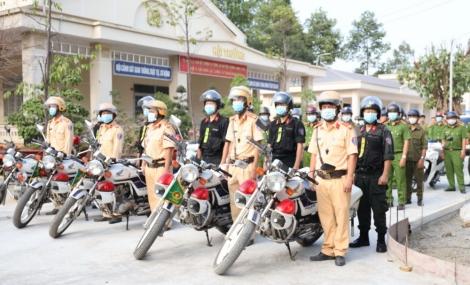 Công an Dương Minh Châu: Ra quân tổng kiểm soát phương tiện giao thông cơ giới đường bộ