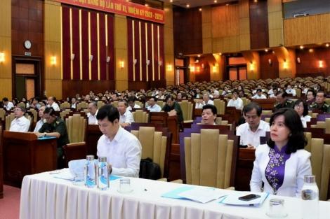 Trên 99% đảng viên học tập Nghị quyết Đại hội XI Đảng bộ tỉnh nhiệm kỳ 2020-2025