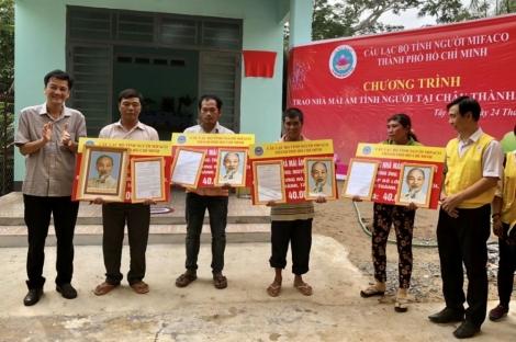Trao tặng mái ấm và tặng quà cho các Mẹ Việt Nam anh hùng tại Châu Thành