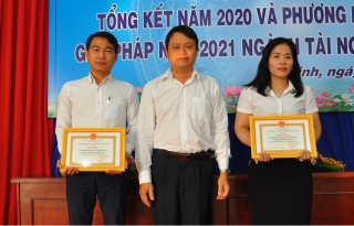 Sở Tài nguyên và Môi trường: Tổng kết công tác năm 2020 và triển khai phương hướng nhiệm vụ năm 2021