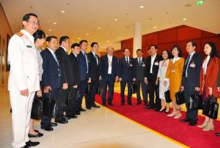 Đoàn đại biểu Đảng bộ tỉnh Tây Ninh đóng góp 20 lượt ý kiến cho dự thảo các văn kiện