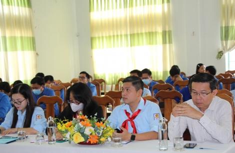 Sơ kết công tác Đoàn - Đội trường học, học kỳ I, năm học 2020 - 2021