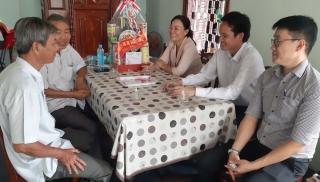 Phó Bí thư Thường trực Thành ủy Tây Ninh thăm, chúc Tết lãnh đạo Thành phố qua các thời kỳ