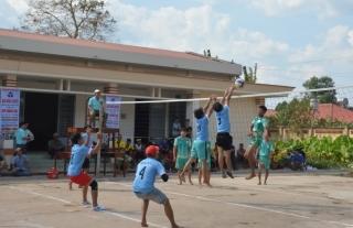 Tân Châu: Khai mạc Giải bóng chuyền mở rộng Cúp Hoàng Hoa lần thứ XII
