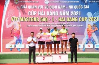 Cặp đôi Lý Hoàng Nam-Nguyễn Văn Phương vô địch nội dung đôi nam