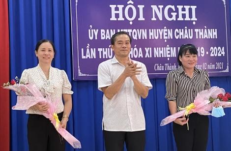 Hiệp thương bầu bổ sung phó Chủ tịch UB. MTTQVN huyện Châu Thành