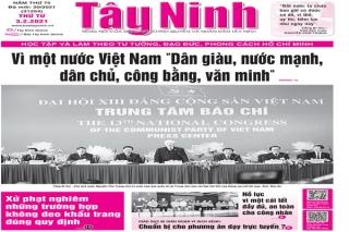 Điểm báo in Tây Ninh ngày 03.02.2021