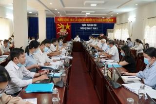 Thường trực HĐND tỉnh: Họp phiên định kỳ tháng 2 năm 2021