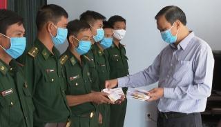 Phó Chủ tịch UBND tỉnh Dương Văn Thắng: Thăm lực lượng vũ trang đóng quân trên huyện Châu Thành