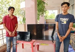 Công an TP.Tây Ninh: Bắt hai đối tượng trộm ti vi