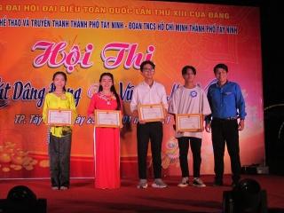 """Thành phố Tây Ninh: Hội thi """"Tiếng hát Dâng Đảng - Vũ điệu mùa xuân"""" năm 2021"""
