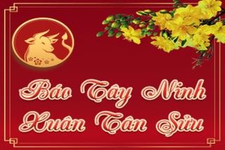 Báo Tây Ninh chào đón năm mới Tân Sửu 2021