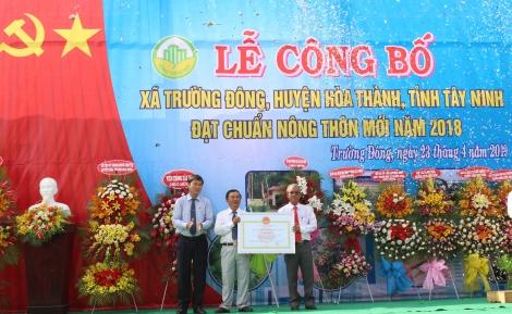 """Triển khai, thực hiện phong trào thi đua """"Tây Ninh chung sức xây dựng nông thôn mới"""" giai đoạn 2021 - 2025"""