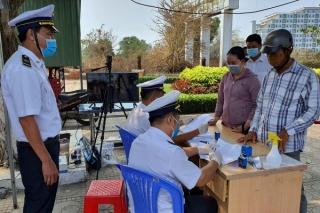 Rà soát, lấy mẫu xét nghiệm người về từ huyện Cẩm Giàng, tỉnh Hải Dương