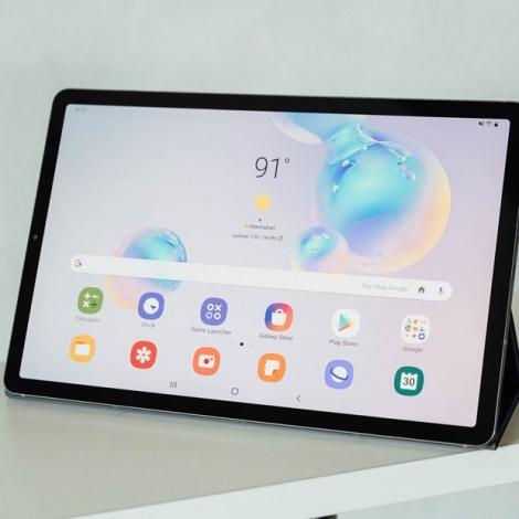 Samsung dẫn đầu thị trường máy tính bảng tại châu Âu-Phi và Trung Đông