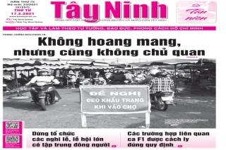 Điểm báo in Tây Ninh ngày 17.02.2021