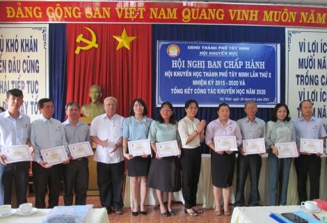Thành phố Tây Ninh thực hiện tốt công tác khuyến học khuyến tài