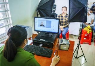 Tân Châu: Có gần 1.200 công dân được làm căn cước công dân gắn chip điện tử