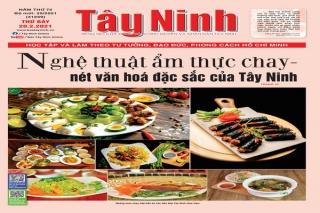 Điểm báo in Tây Ninh ngày 20.02.2021