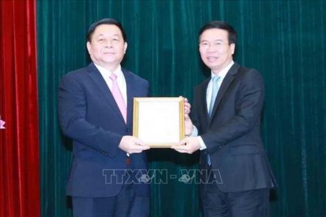 Đồng chí Nguyễn Trọng Nghĩa giữ chức Trưởng ban Tuyên giáo Trung ương