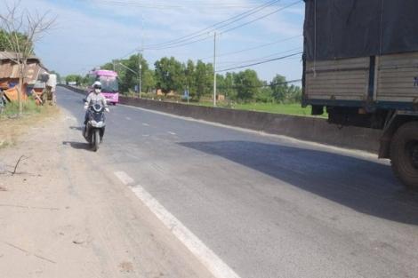 Đầu tư bổ sung nhiều hạng mục trên QL22B qua Tây Ninh