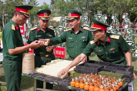 Chỉ huy Sư đoàn 5: Kiểm tra công tác chuẩn bị huấn luyện chiến sĩ mới năm 2021 tại các đơn vị trực thuộc