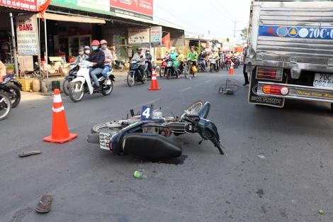 Gây tai nạn giao thông, bỏ trốn
