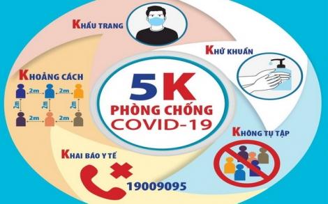Bộ Y tế: Phòng chống COVID-19 trong tình hình mới tại nơi làm việc