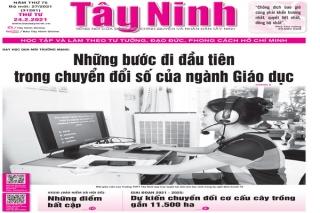 Điểm báo in Tây Ninh ngày 24.02.2021