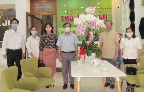Bí thư Thành uỷ Nguyễn Hồng Thanh thăm các công ty nhân dịp đầu năm mới 2021