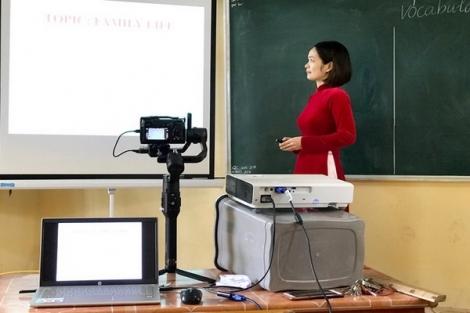 Cần trang bị kỹ năng dạy học trực tuyến cho giáo viên