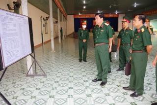 Bộ Tư lệnh Quân khu 7 kiểm tra công tác giao nhận quân tại Tây Ninh